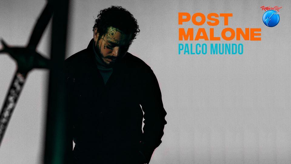 Post Malone no Rock in Rio Lisboa 2020 - 28 de Junho