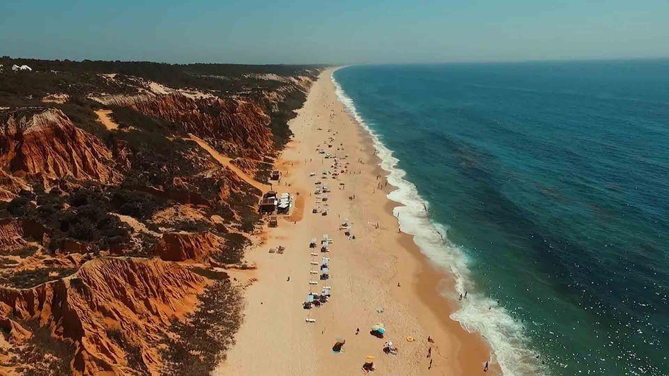 Praia em Melides