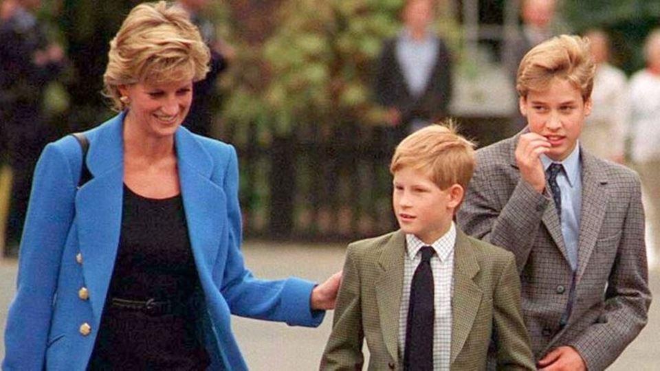 Harry e William inauguram está...