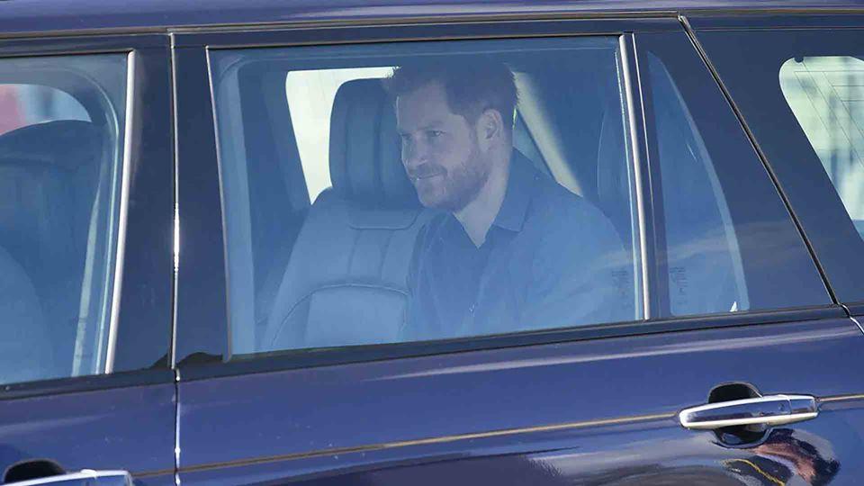 Príncipe Harry já chegou ao Re...