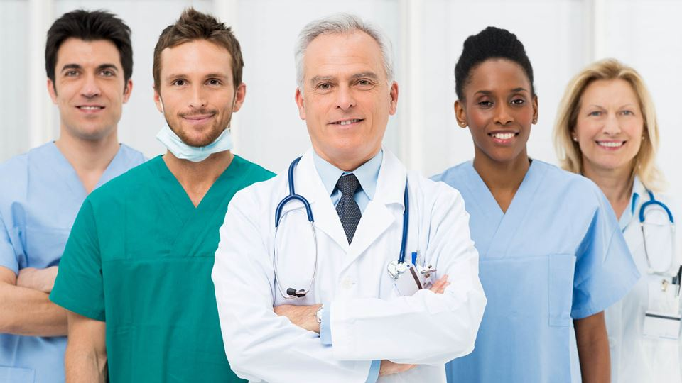 Profissionais de saúde agradec...
