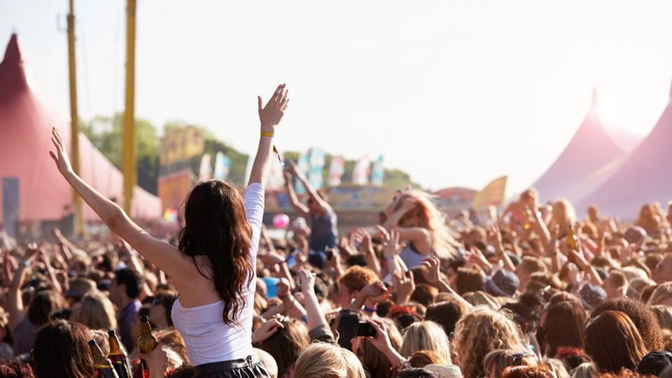 Público num festival