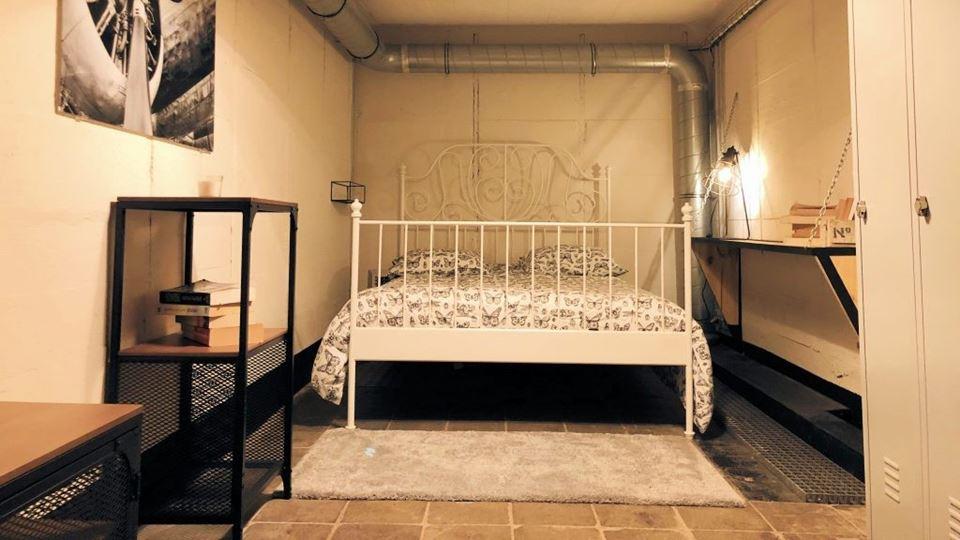 Gostavas de dormir num bunker ...
