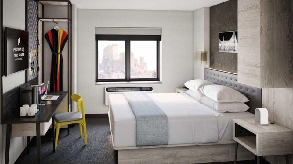 quarto hotel cr7 ny 2