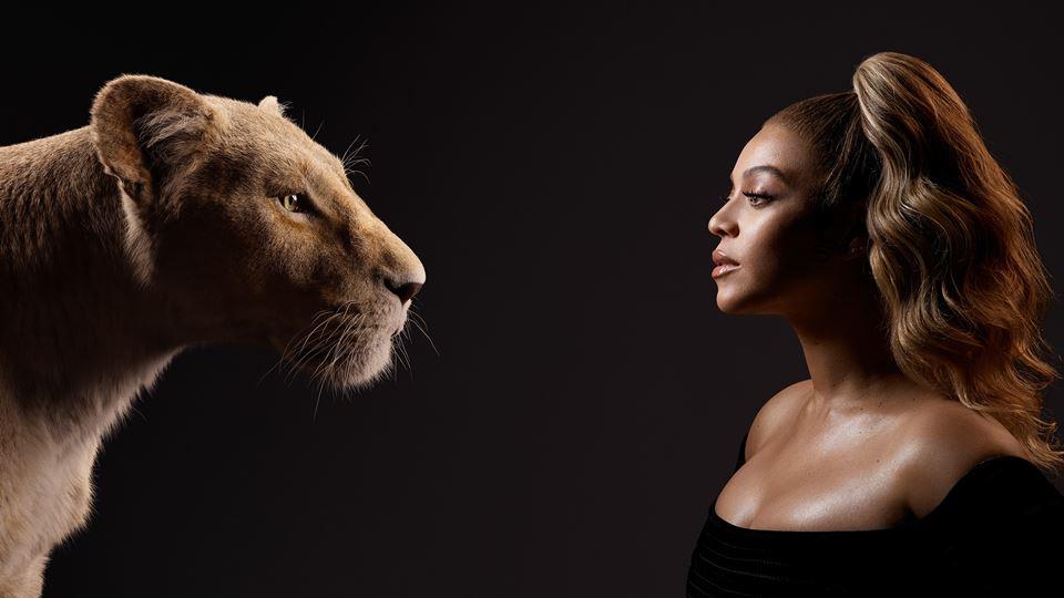 Rei Leão - Beyoncé Knowles-Carter com Nala