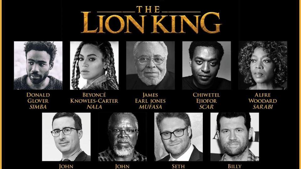 Rei Leão Cast 2019