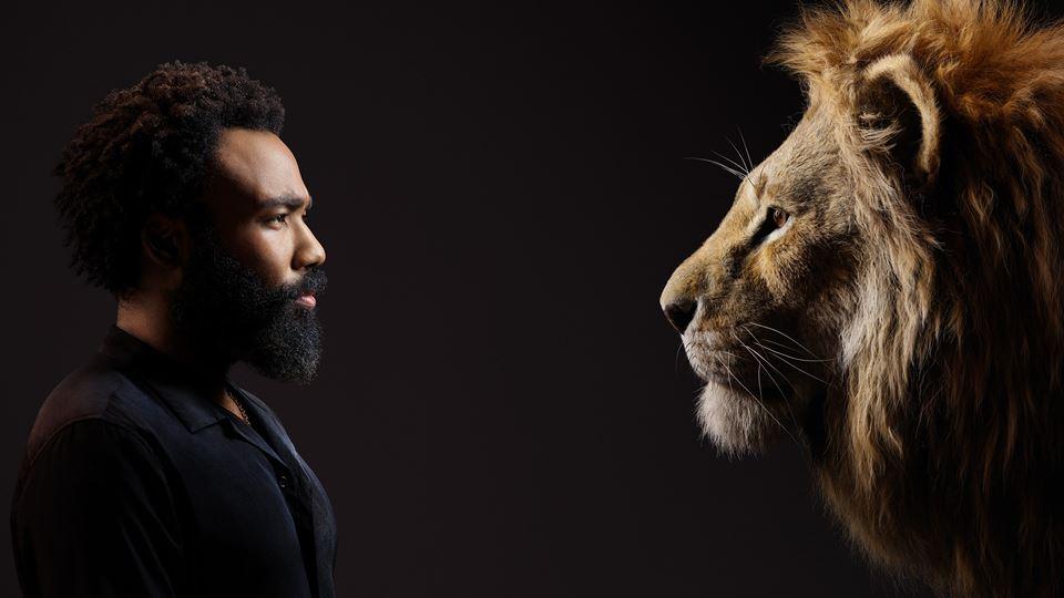 Rei Leão - Donald Glover com Simba
