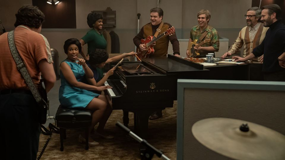 Respect Jennifer, ao piano,em estúdio