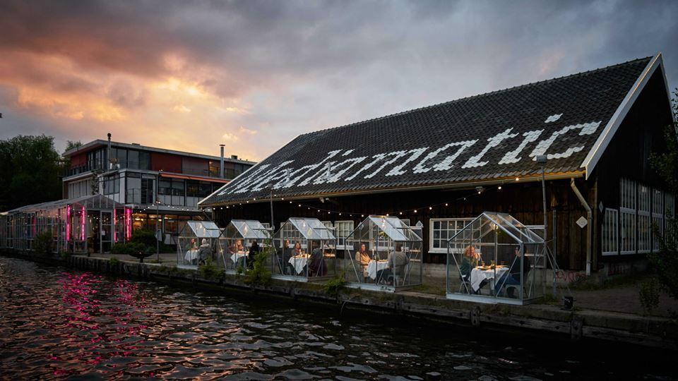 Restaurante Mediamatic testa um novo conceito