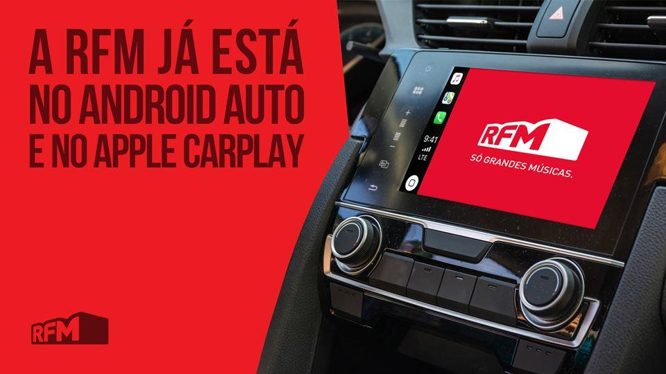 RFM já está em Android Auto e ...