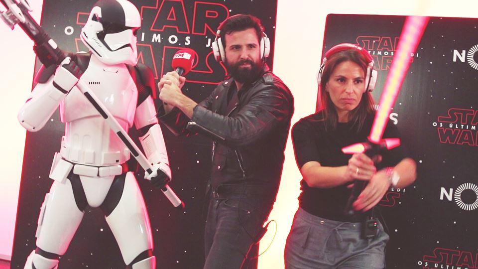 BFF na estreia de Star Wars: o...