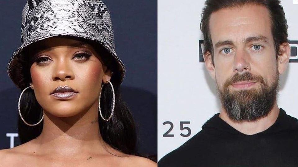 Rihanna e Jack Dorsey