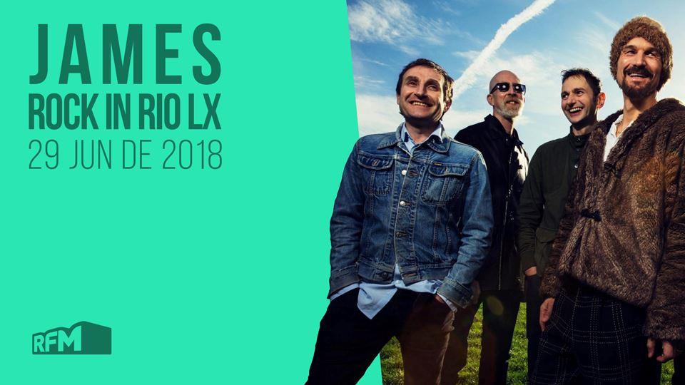 Rock in RIo Lx 2018 James
