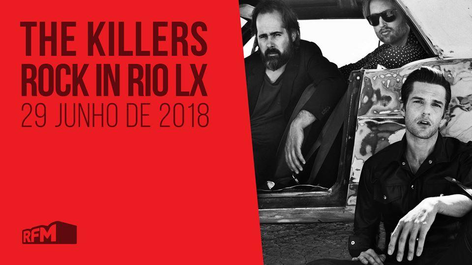 The Killers no Rock in Rio LX18