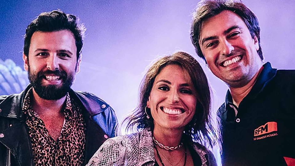Rodrigo Gomes com Joana Cruz e Daniel Fontoura