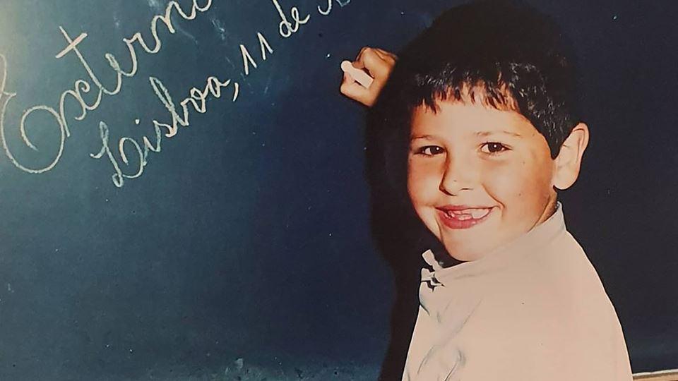 Rodrigo Gomes em criança