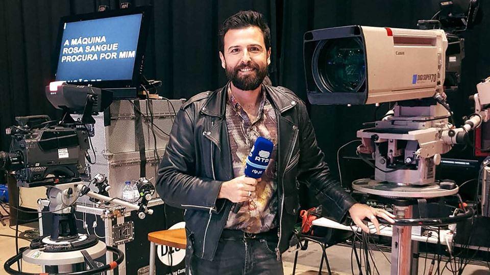 Rodrigo Gomes na RTP1