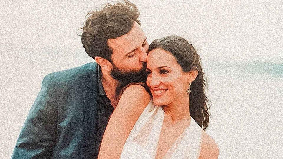 Rodrigo Gomes no dia do seu casamento