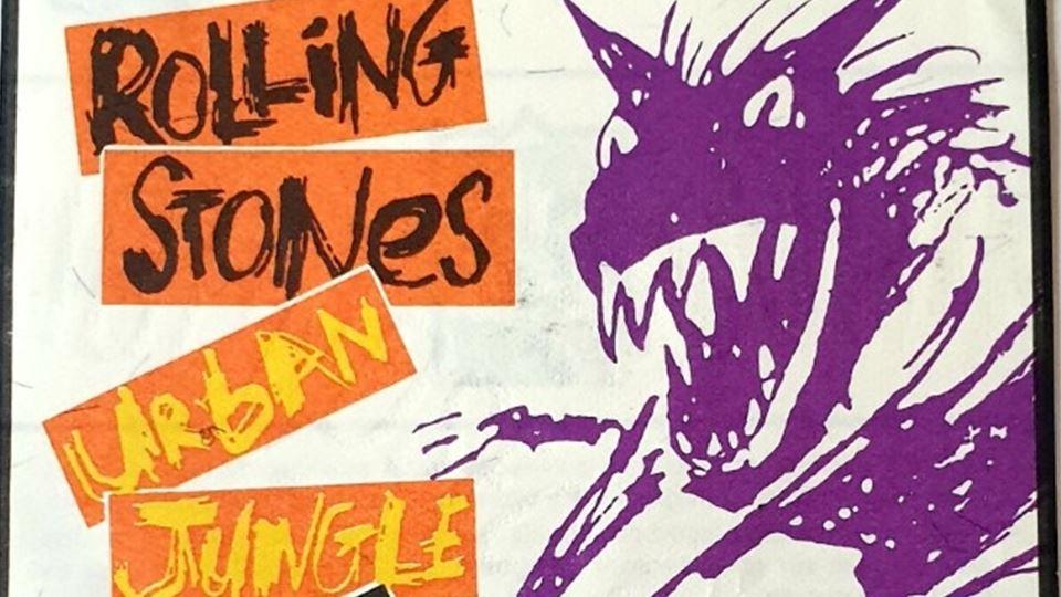 Rolling Stones bilhete 10 Junho 1990