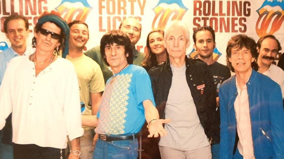 Rolling Stones com RFM Coimbra 2003