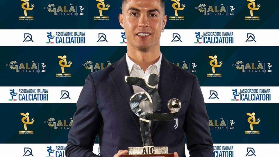 Cristiano Ronaldo eleito o mel...