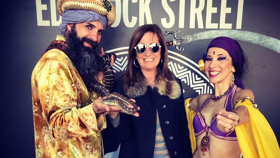 Teresa Lage da RFM a preparar-se para a viagem até à Rock Street Africa