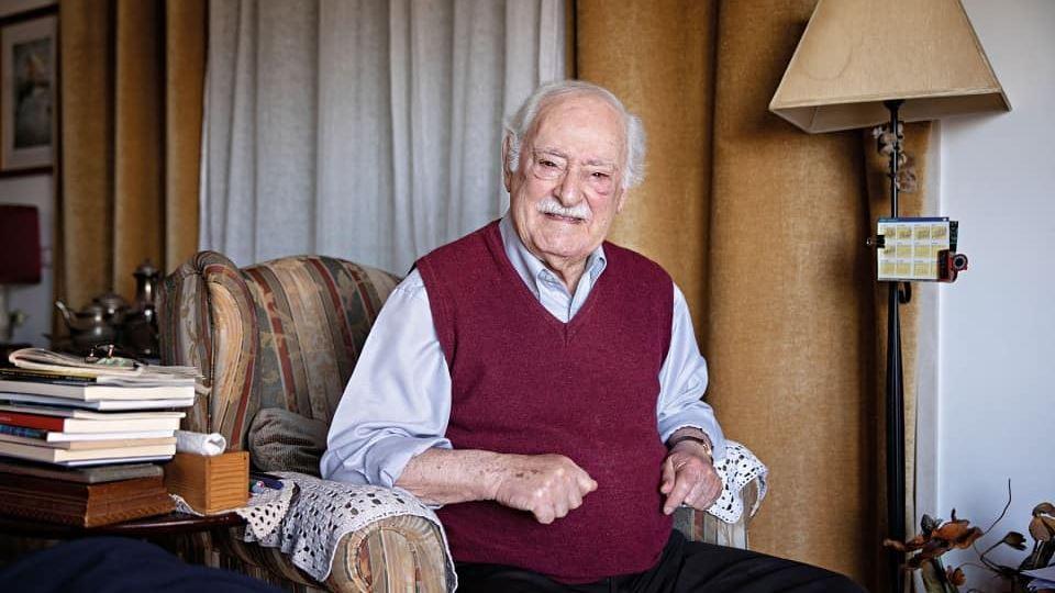 94 anos de Ruy de Carvalho. Qu...