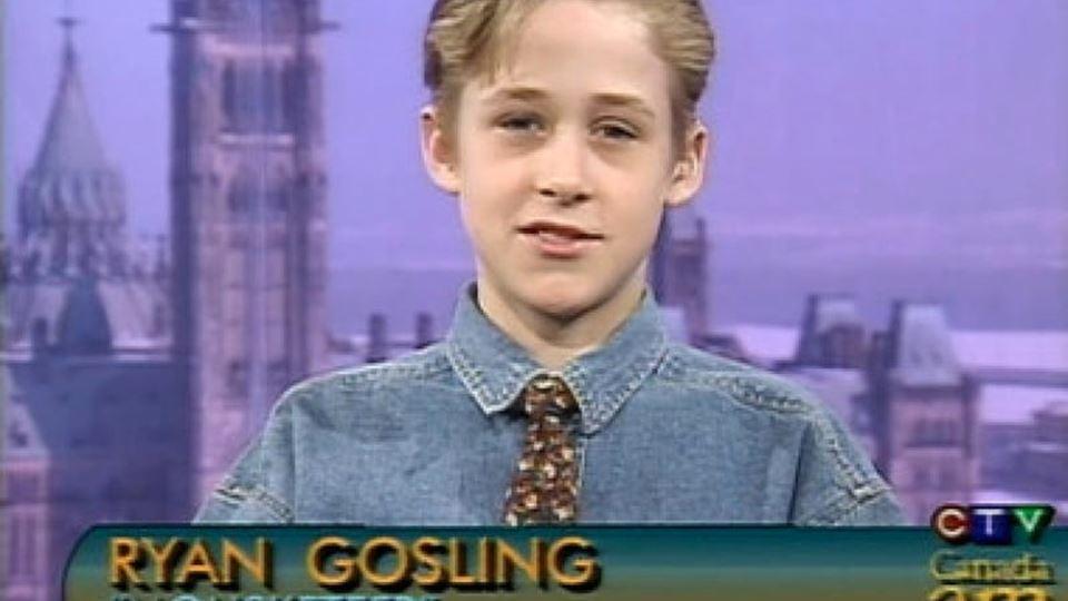 """Ryan Gosling estreou-se na televisão no """"The MIckey Mouse Club"""""""