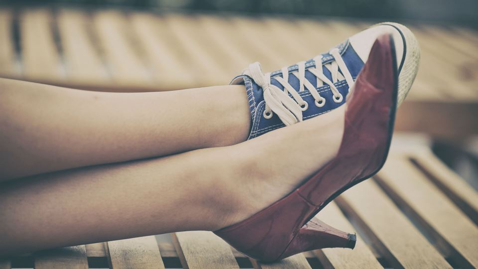 Sapatos com pares iguais podem...