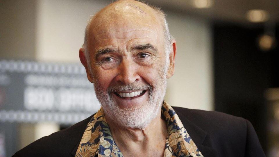 Morreu Sean Connery, o primeir...