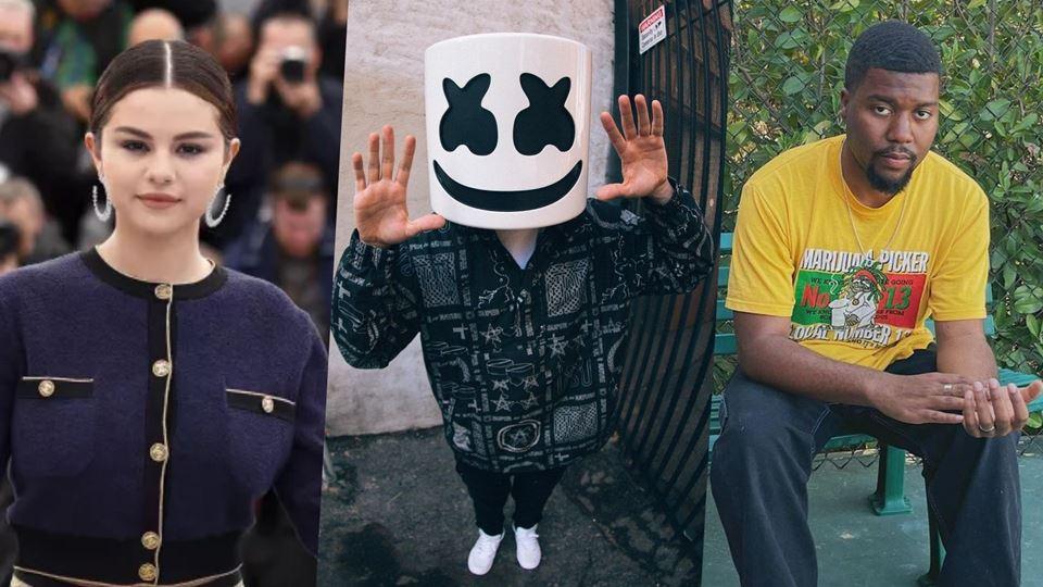 Marshmello, Khalid e Selena Go...
