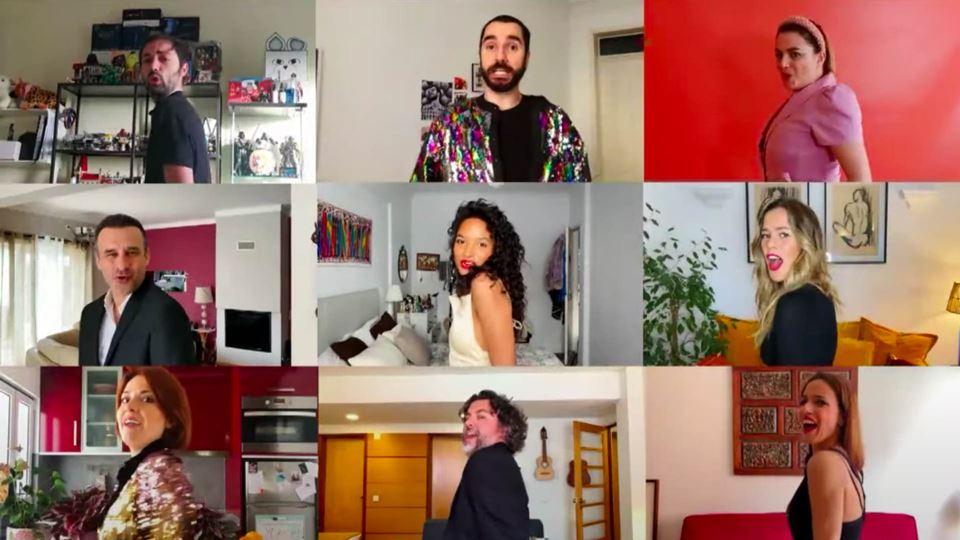 Vídeo de atores portugueses so...
