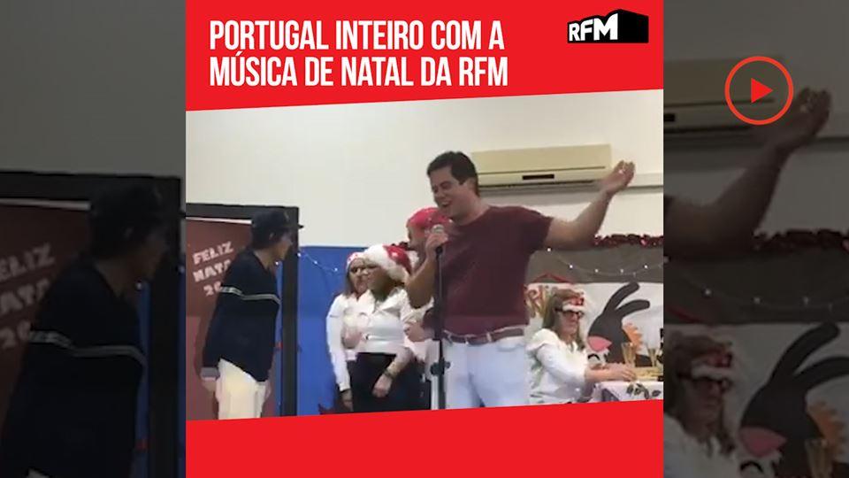 Portugal com a música de natal...