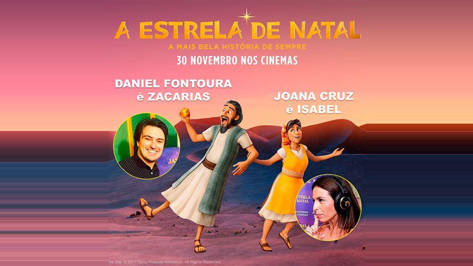 Daniel Fontoura e Joana Cruz em A Estrela de Natal