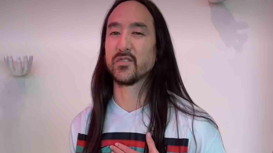 Steve Aoki faz TikTok com cami...
