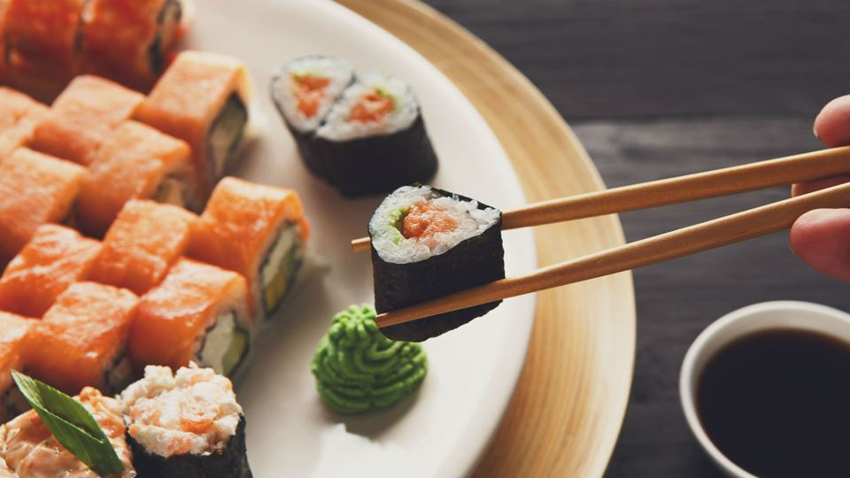 Dia internacional do sushi... ...