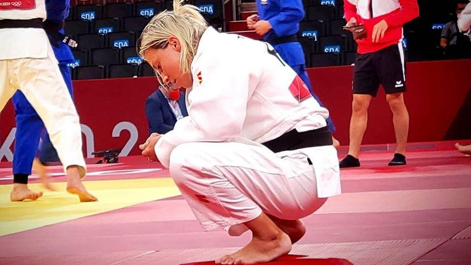 Telma Monteiro sobre a elimina...
