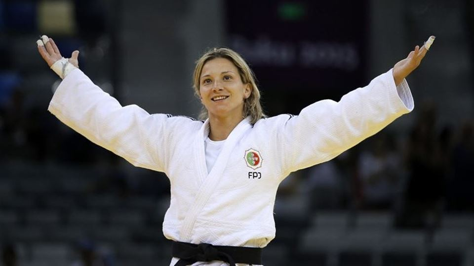 Telma Monteiro vence medalha d...
