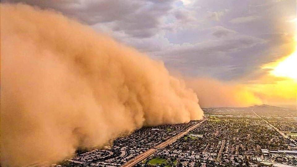 Tempestade de areia atinge São...