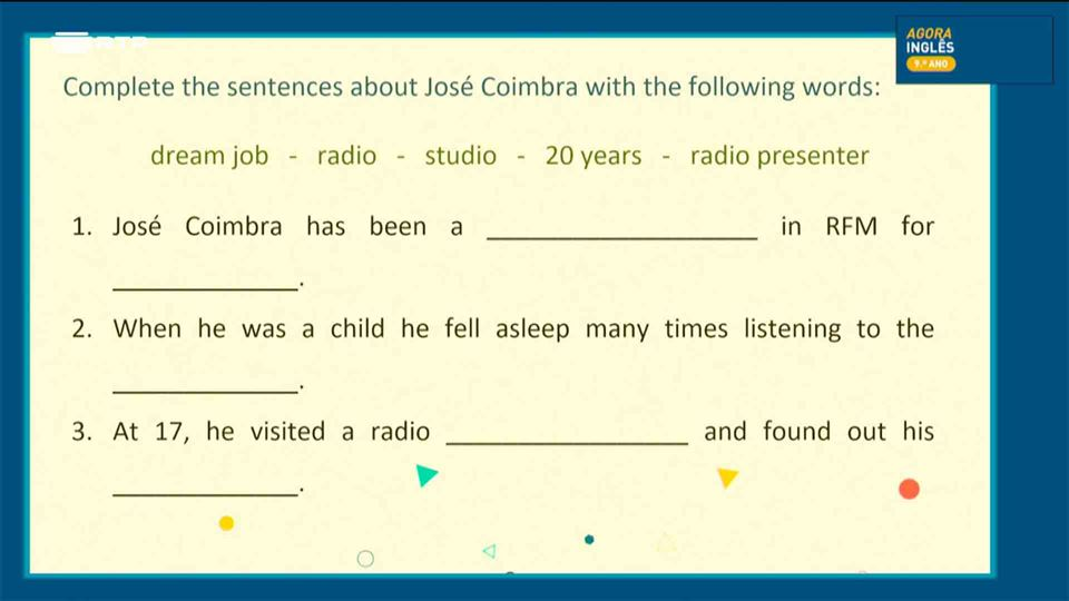 Teste sobre José Coimbra
