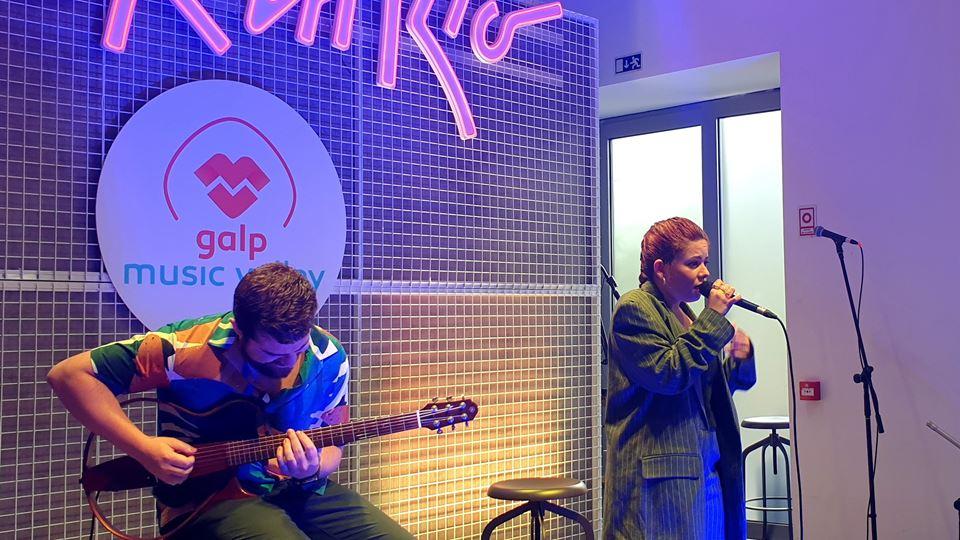 Bárbara Tinoco ao vivo no Kick Off do Rock in Rio Lisboa 2022
