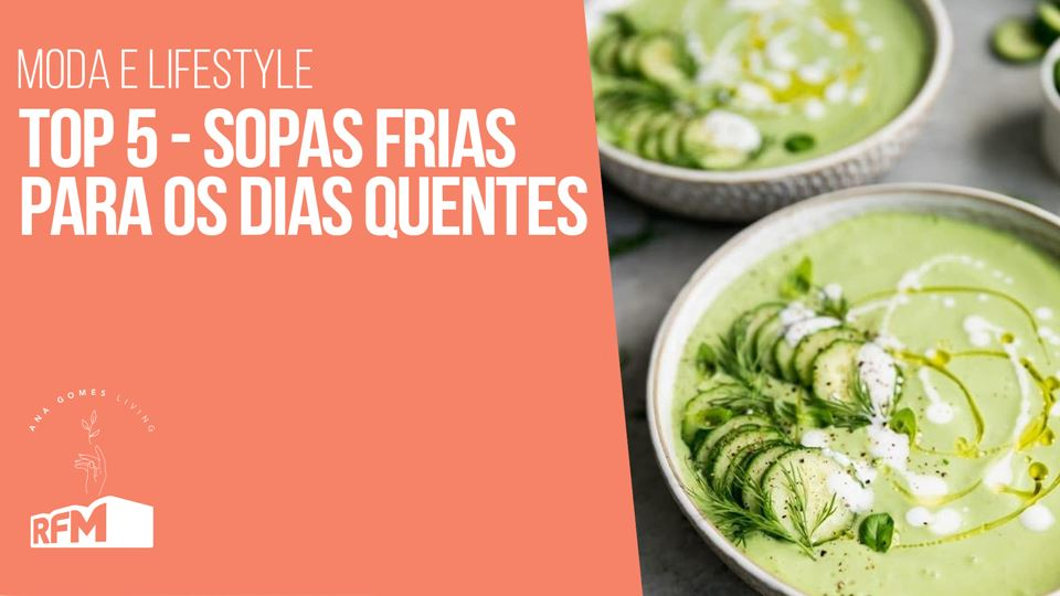 Ana Gomes Living - 5 Sopas fri...
