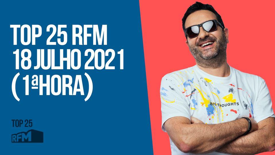 TOP 25 RFM 18 JULHO DE 2021 - ...
