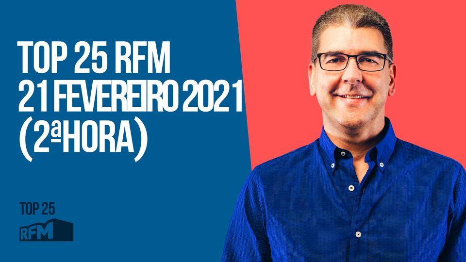 TOP 25 RFM - 21 DE FEVEREIRO D...