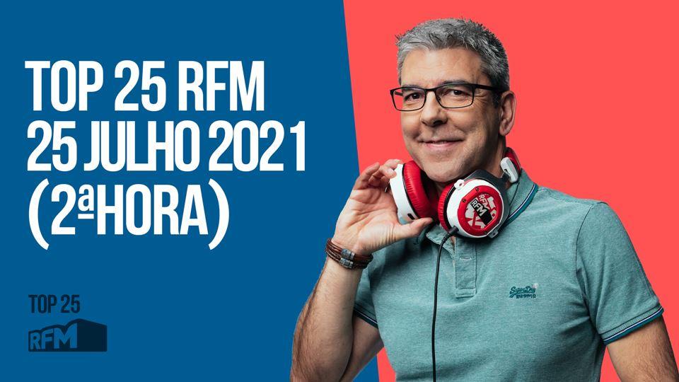 TOP 25 RFM 25 JULHO DE 2021 - ...