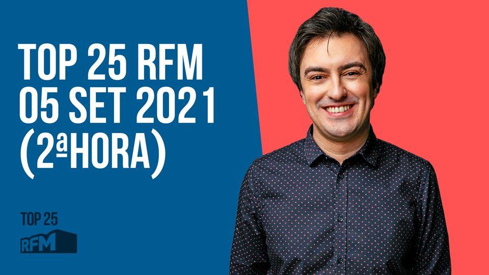 TOP 25 RFM 05 SETEMBRO DE 2021...