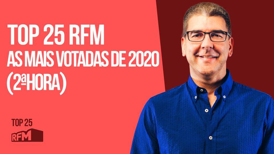 TOP 25 RFM AS MAIS VOTADAS DE ...