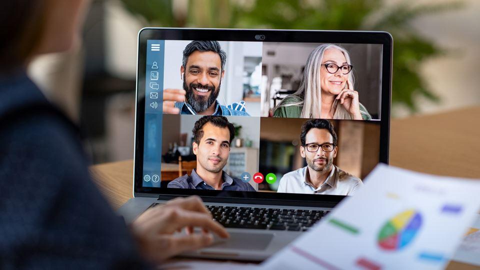 Trabalhar por videochamada é a nova realidade