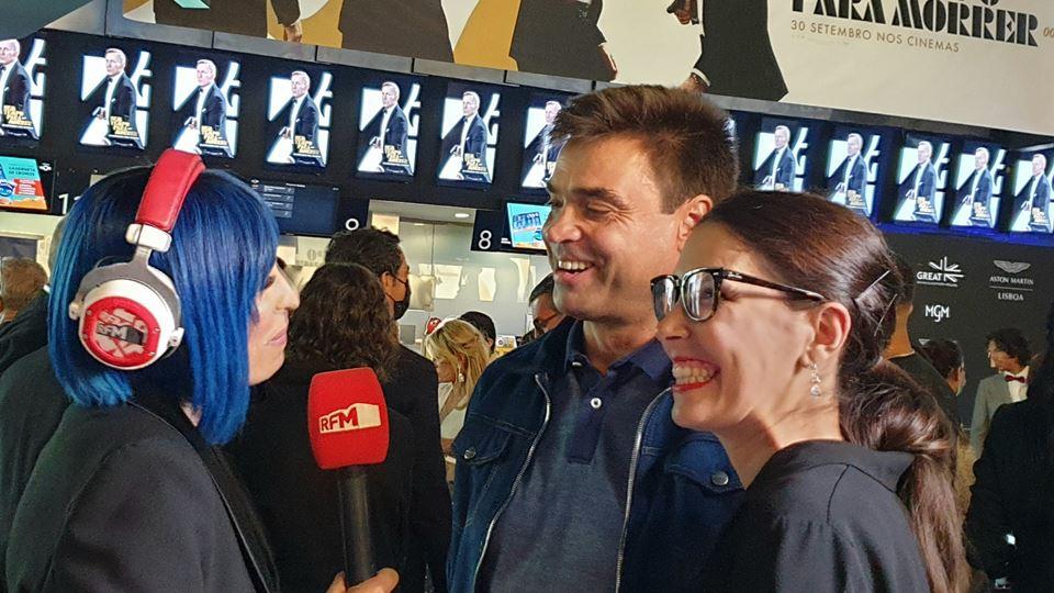 Vencedores e Joana Cruz na ante estreia