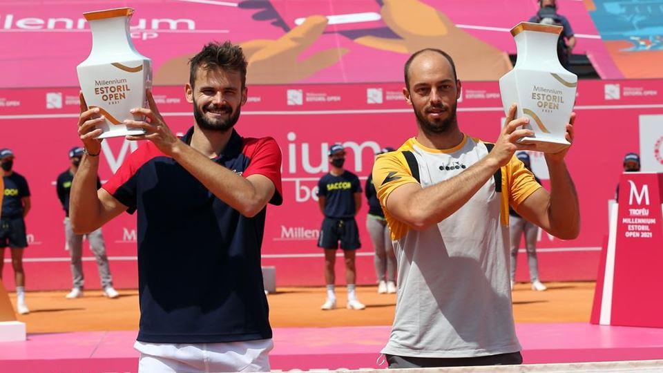 Campeões em pares Millennium Estoril Open 2021 - Hugo Nyz e Tim Puetz